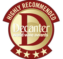 Decanter 2009, Four stars. Otorgado a Reserva 2004