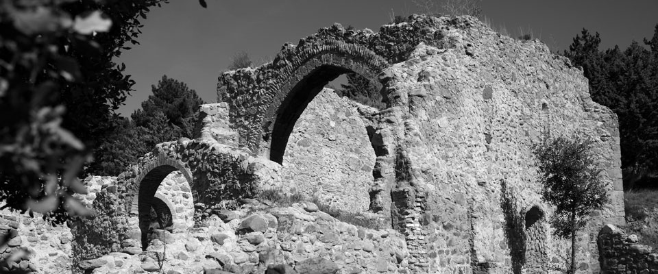 It comes out in photographs in black and white of a few ruins.